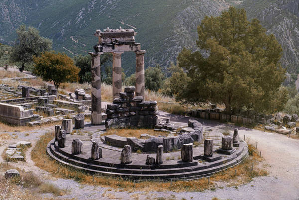 Photograph - Tholos In Delphi by Jaroslaw Blaminsky