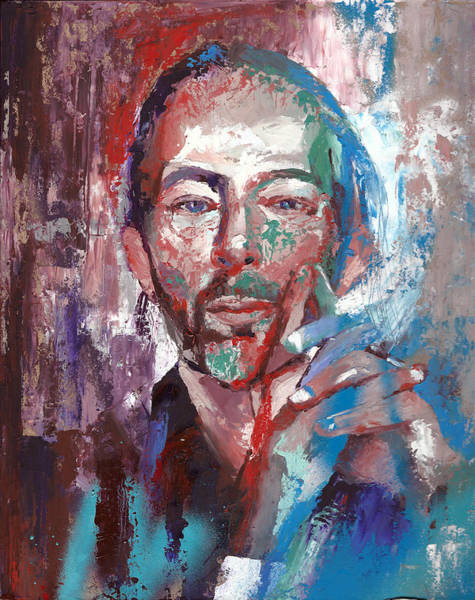 Emo Painting - Thom Yorke by Haze Long