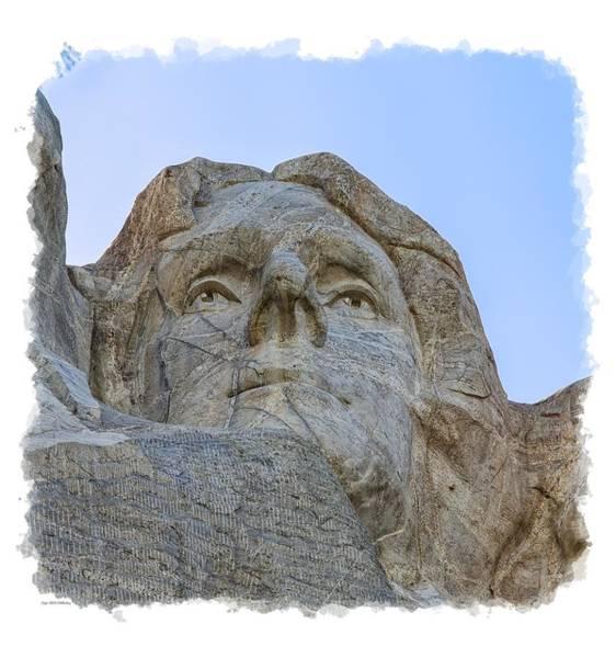 Photograph - Thomas Jefferson 3 by John M Bailey