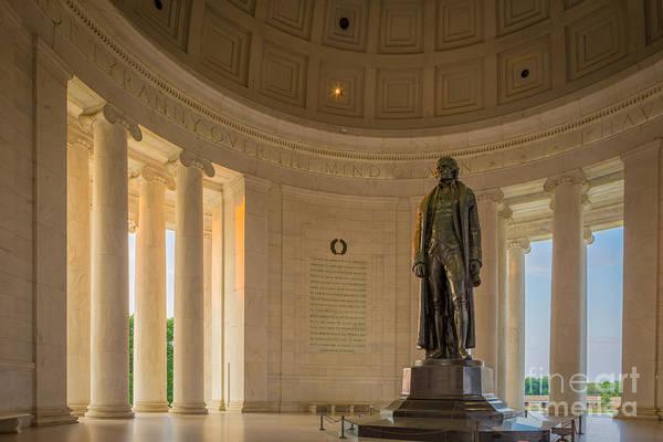 Thomas Jefferson Photograph - Thomas Jefferson by Inge Johnsson