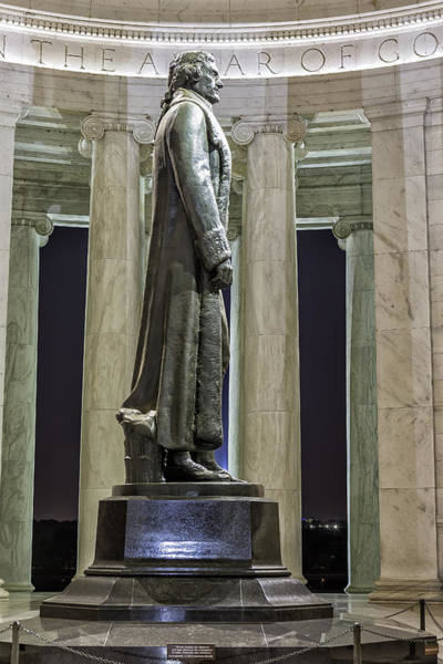 Photograph - Thomas Jefferson Memorial by Belinda Greb