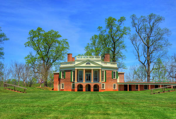 Wall Art - Photograph - Thomas Jefferson's Poplar Forest by Craig Fildes