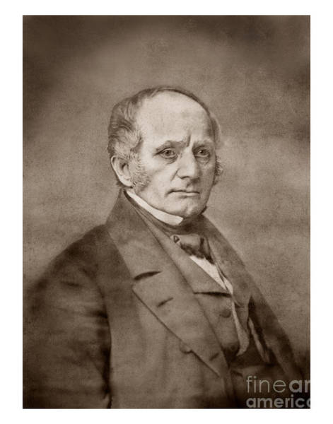 Photograph - Thomas Oliver Larkin 1802-1858 by California Views Archives Mr Pat Hathaway Archives