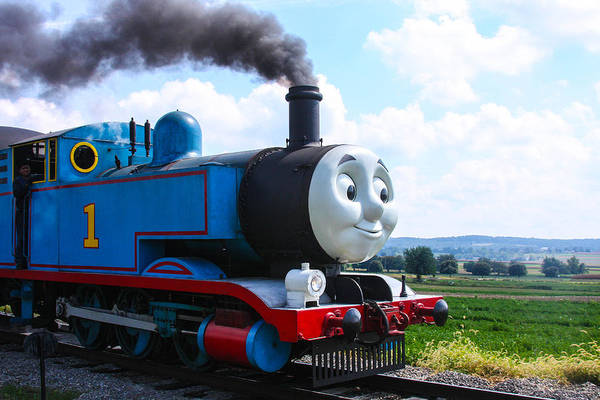 Wall Art - Photograph - Thomas The Train Engine by William Rogers