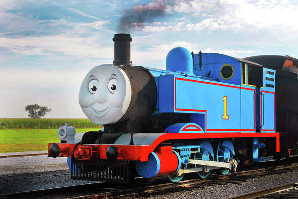 Thomas The Train Art Print