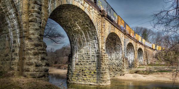 Photograph - Thomas Viaduct Panoramic by Dennis Dame