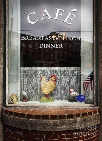 Photograph - Thomaston Cafe by Craig J Satterlee