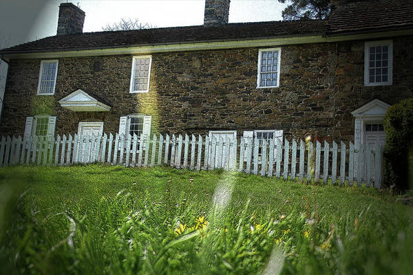 Photograph - Thompson Neely House @ Washington Crossing State Park by Emanuel Tanjala