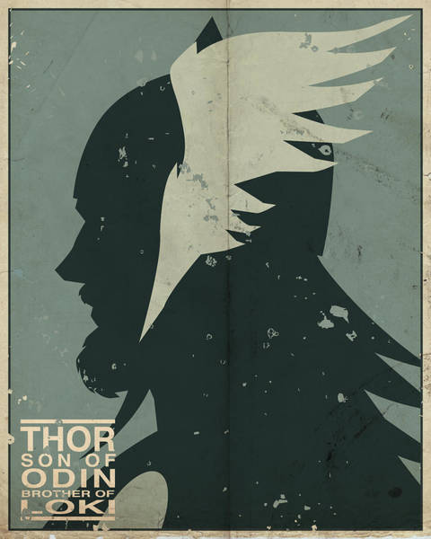 Marvel Wall Art - Digital Art - Thor by Michael Myers