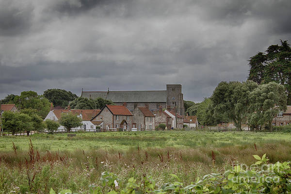 Wall Art - Photograph - Thornham From The Marsh by John Edwards