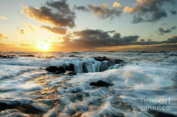Wall Art - Photograph - Thors Well Cape Perpetua 2 by Bob Christopher