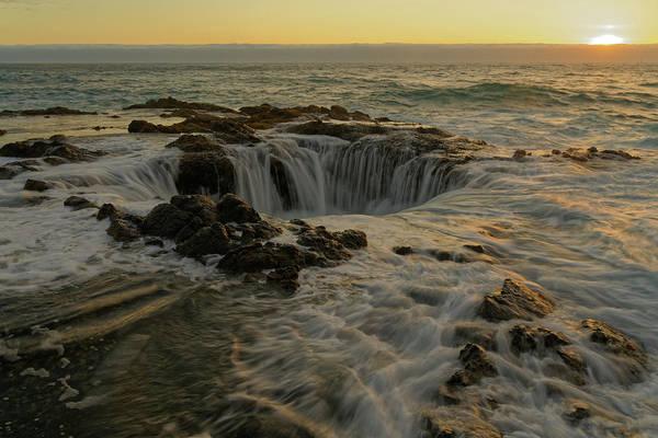 Photograph - Thor's Well by Jonathan Davison