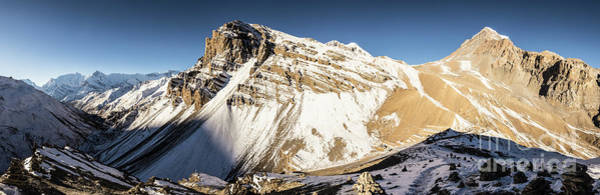 Photograph - Thorung La Pass In The Annapurna Range In The Himalayas In Nepal by Didier Marti