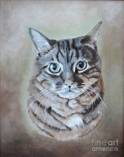 Mary Rogers Painting - Those Eyes by Mary Rogers