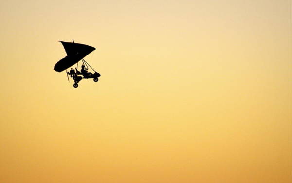 Photograph - Those Magnificent Men In Their Flying Machines by AJ  Schibig