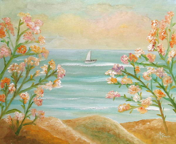 Painting - Those Splendid Summers by Angeles M Pomata