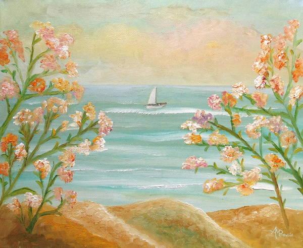 Painting - Those Splendid Summers by Angeles M Pomata