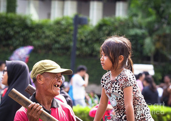 Photograph - Tough Life In Jakarta by Didier Marti