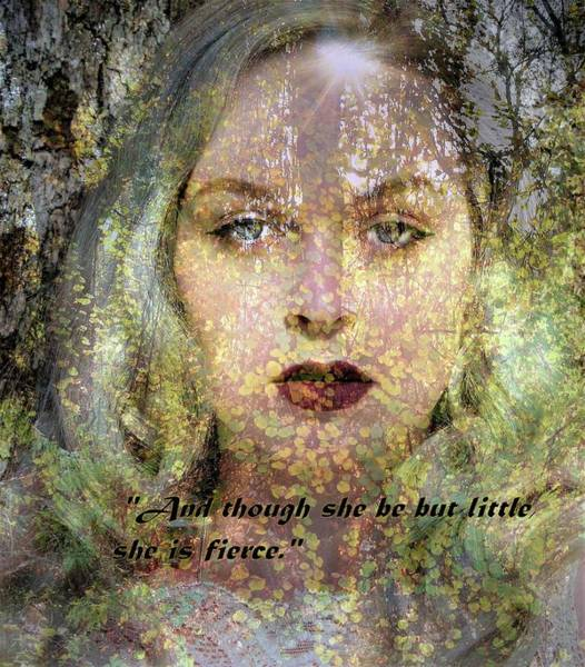 Photograph - Though She Be But Little, She Is Fierce... by Marilyn MacCrakin