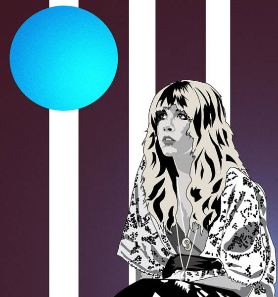 Stevie Nicks Digital Art - Thoughtful Stevie by Andy Donald