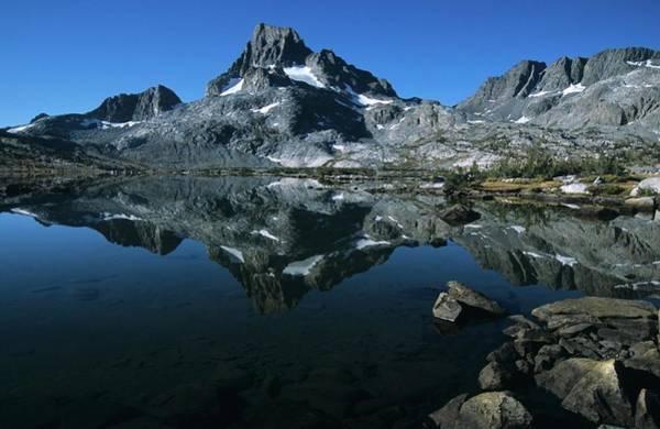 Thousand Islands Lake And Reflection Of Mount Davis Art Print