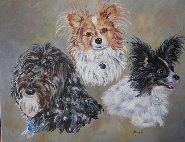 Painting - Three Amigos by Merrie Kapron Taverna