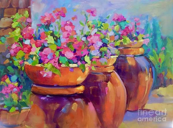 Painting - Three Amigos by Patsy Walton