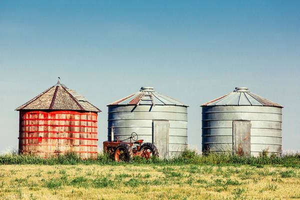 Bin Wall Art - Photograph - Three Bins by Todd Klassy
