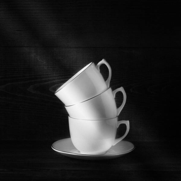 Wall Art - Photograph - Three Coffee Cups by Ian Barber