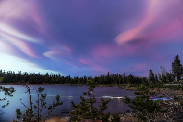 Wall Art - Photograph - Three Creeks Sunset by Cat Connor