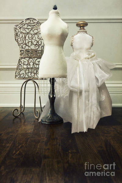 Dress Form Photograph - Three Forms by Margie Hurwich