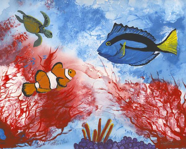 Painting - Three Friends  by Darice Machel McGuire