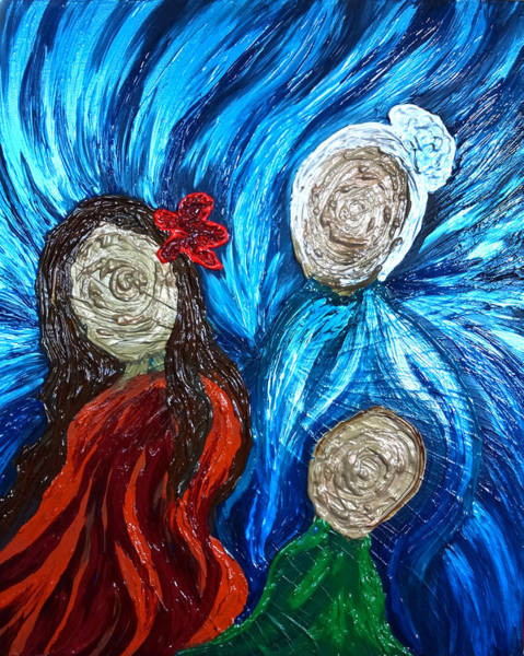 Painting - Three Generations by Michelle Pier