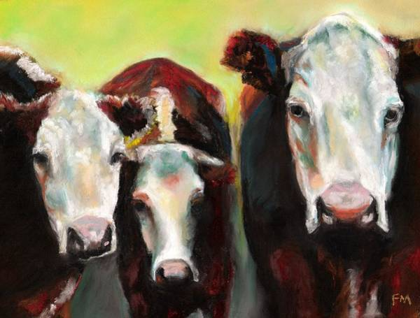 Three Generations Of Moo Art Print