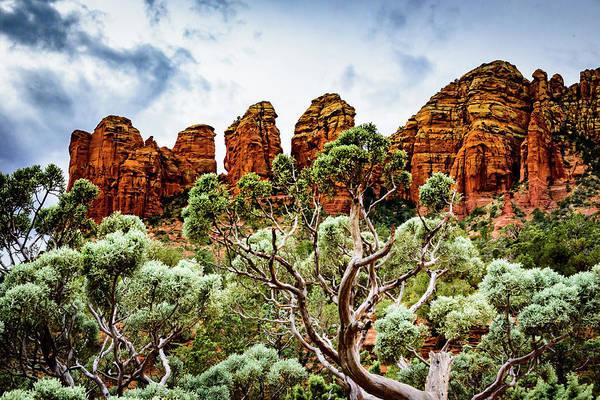 Wall Art - Photograph - Three Gods Rock Mountain by Jon Berghoff