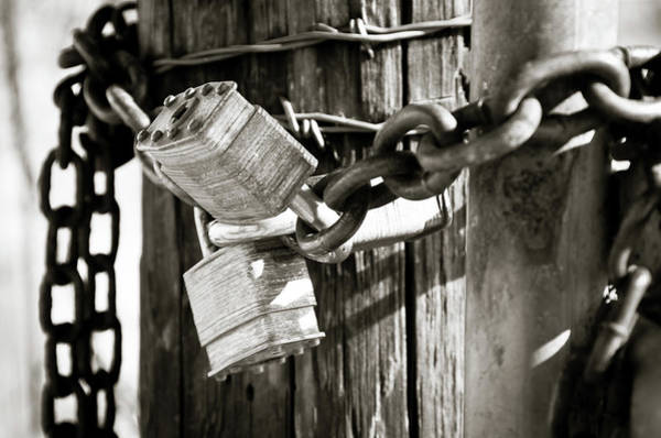 Photograph - Three Lock Gate by Adam Reinhart