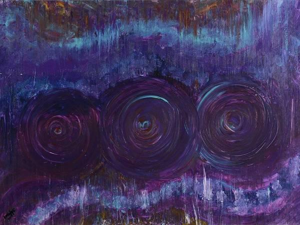 Three Mandalas Art Print