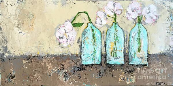 Wall Art - Painting - Three Of A Kind by Kirsten Reed