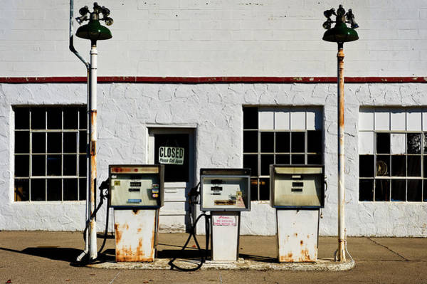 Photograph - Three Pumps, No Cats by Bud Simpson