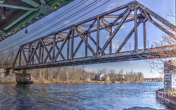 Photograph - Three Rivers Trestle by Rod Best