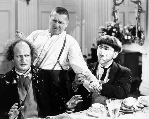 Wall Art - Photograph - Three Stooges: Film Still by Granger