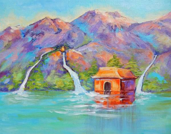Painting - Three Streams by Caroline Patrick