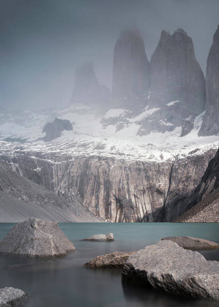 Photograph - Three Towers, Chile by Dalibor Hanzal