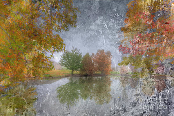 Orange County Digital Art - Three Trees by Larry Braun