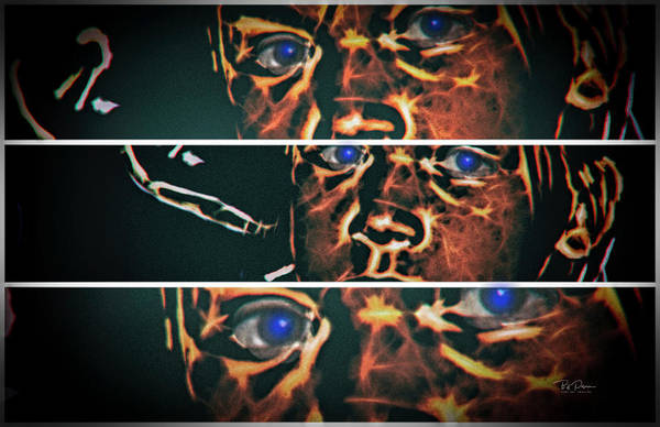 Digital Art - Three Views by Bill Posner