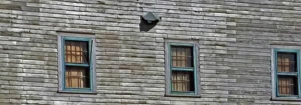 Wall Art - Photograph - Three Weathered Windows by Janis Beauchamp