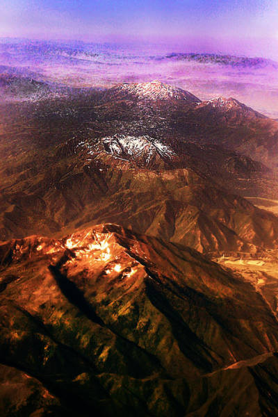 Photograph - Three Western Mountains by Susan Vineyard
