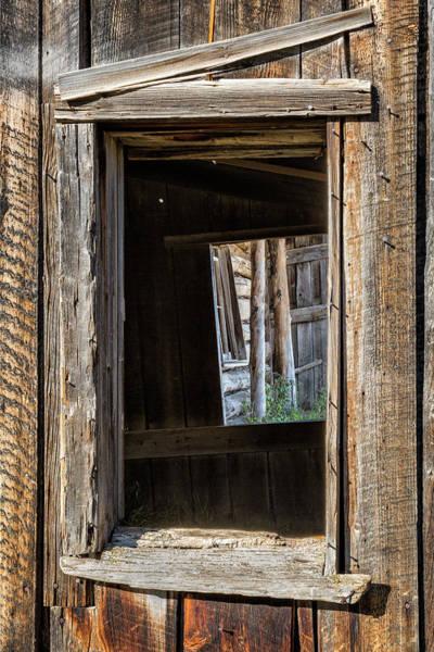 Photograph - Three Windows by Denise Bush