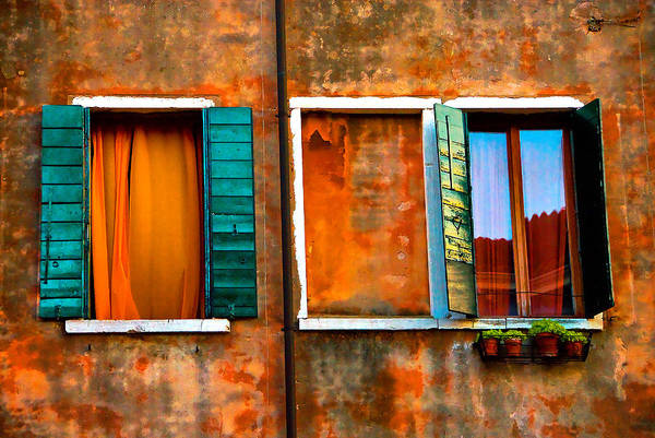Photograph - Three Windows by Harry Spitz