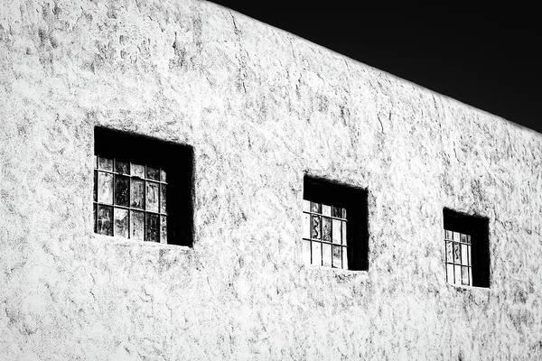 Photograph - Three Windows In Taos #2 by Stuart Litoff